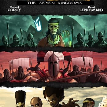 Indie Comic Review: Black Sands (Kids 2 Kings) #3 &#8211 The Politics of a World of Gods