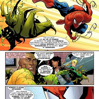 Improbable Previews: The Spectacular Spencer-Man Debuts in Amazing Spider-Man #1