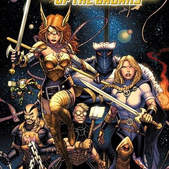 Angela Valkyrie Thunderstrike and Throg Lead Marvels New Cosmic Team the Asgardians of the Galaxy