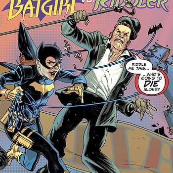 Batgirl vs. the Riddler #1 Review: Ed Nigma the Nice Guy