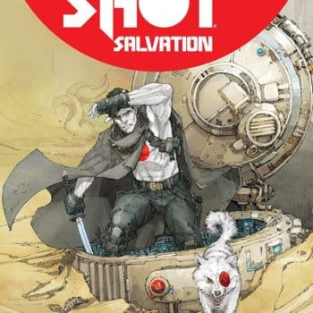 Bloodshot Salvation #10 cover by Kenneth Rocafort