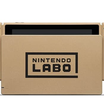 Nintendo is Holding a Contest to Win a Labo Cardboard Switch