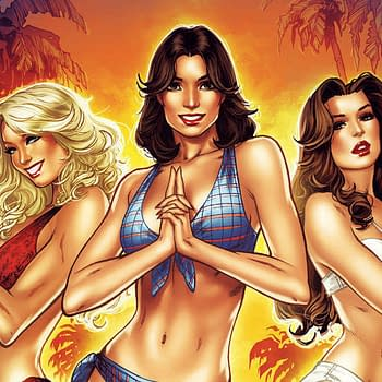 Dave Dorman Anthony Marquez and Elias Chatzoudis Cover Charlies Angels #1