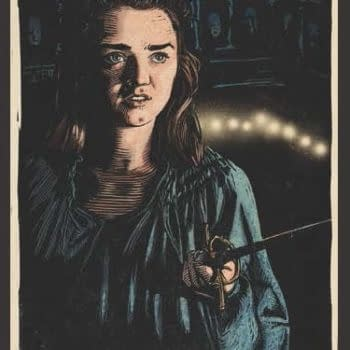 Chronicle Books Game of Thrones SDCC Exclusive Patch Arya