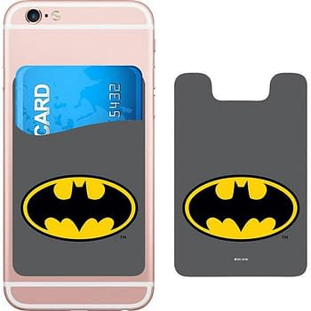 DC Comics Batman Logo Smartphone Card Holder Icon Heroes SDCC