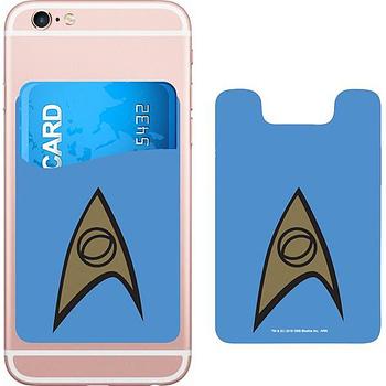 DC Comics Star Trek Logo Smartphone Card Holder Icon Heroes SDCC 2