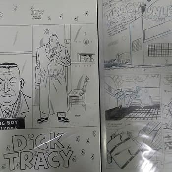 If at First You Dont Succeed&#8230 Rich Tommaso and Allred Clan Try a Dick Tracy Revival at IDW