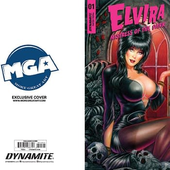 Monte Michael Moore Elias Chatzoudis and Buzz Cover Elvira #1