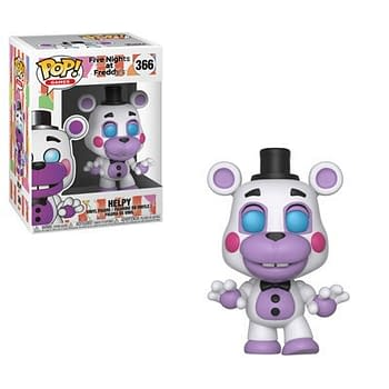 Five Nights at Freddys- New Figures Keychains and Pop Coming From Funko