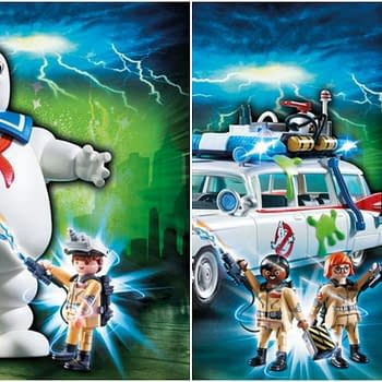 CONTEST: Win Playmobils Ecto-1 or Stay Puft Marshmallow Man to Celebrate Ghostbusters Day