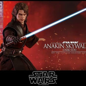 Anakin Skywalker Gets a Star Wars SDCC Exclusive from Hot Toys