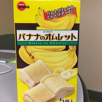 Nerd Food: Banana Omelette Cake from Japan Crate