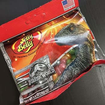 Nerd Food: Celebrate National Candy Month (and Jurassic World) with Jelly Belly