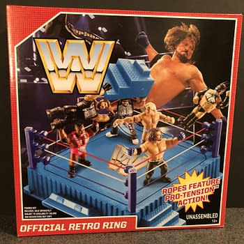 Lets Take a Look at the Mattel WWE Retro Ring