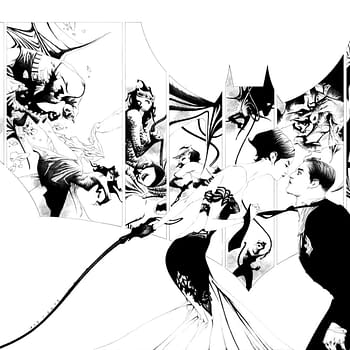 Jae Lees Process Art for His Batman #50 Retailer Exclusive Cover