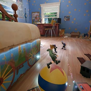 Kingdom Hearts 3s Toy Story Map Includes an FPS Mode