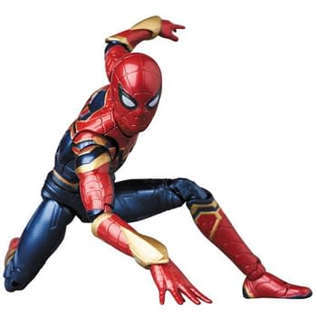 The Iron Spider Suit from Infinity War Gets a MAFEX Figure in Spring