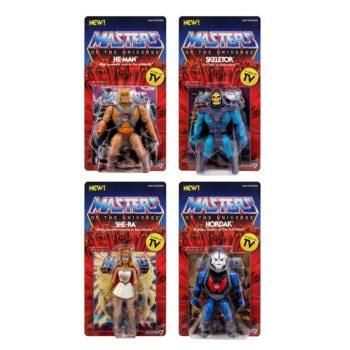 Masters of the Universe MOTU Vintage Figures Wave 1