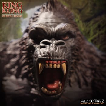 King Kong Roars Into Toy Collections from Mezco Toyz