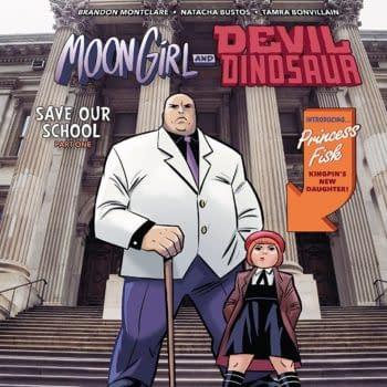 Moon Girl and Devil Dinosaur #32: Not Suitable for Children?