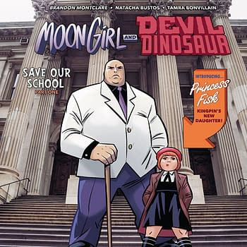 Moon Girl and Devil Dinosaur #32: Not Suitable for Children