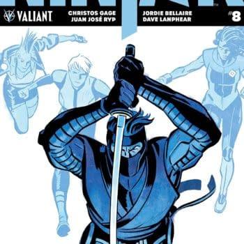 Ninja-K #8 cover by Tonci Zonjic