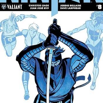 Ninja-K #8 Review: Big Superhero Team Smackdown