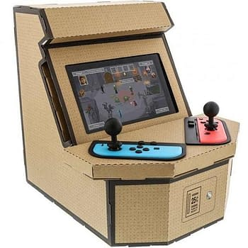 Nyko Is Making a Nintendo Switch Arcade Cabinet in the Labo Style