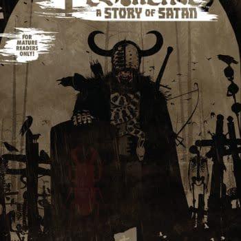 Pestilence: A Story of Satan #2 cover by Tim Bradstreet