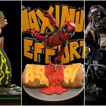 Deadpool Harry Potter and Alien Q-Fig SDCC Exclusives on the Way