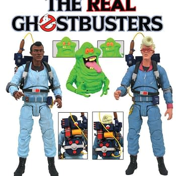 Real Ghostbusters Select Figures Coming from Diamond Select Toys