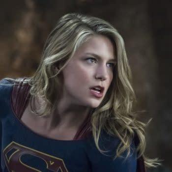 Look, Up in the Sky! It's a Bird! It's a Plane! It's Melissa Benoist Filming 'Supergirl' Season 4!