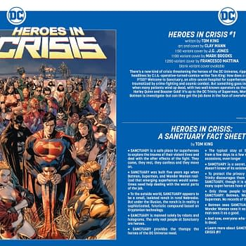 DC Heroes in Crisis: Everyone at Sanctuary is Dead