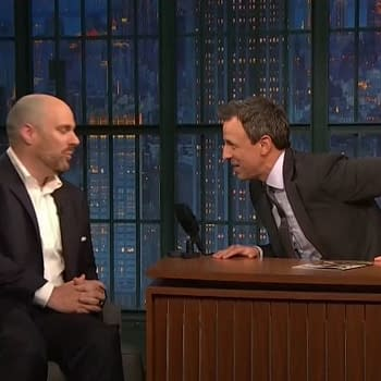 What Did Tom King Talk About on Late Night With Seth Meyers