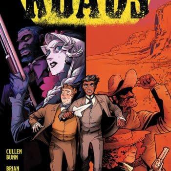 Shadow Roads #1 cover by A. C. Zamudio and Carlos Nicolas Zamudio