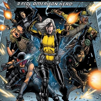 Snake Eyes Gets Her Own Mini-Series in G.I. Joe Spinoff Silent Option from Larry Hama and Netho Diaz