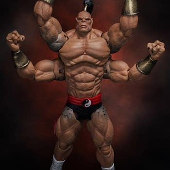 Mortal Kombat Baddie Goro Lands in October From Storm Collectibles