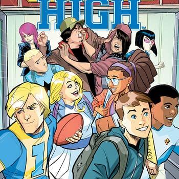 Joe Eismas Valiant High #1 Variant and More Denver Comic Con Exclusives