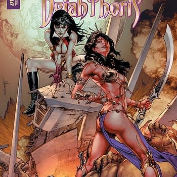 Dynamite Brings Together Vampirella and Dejah Thoris for New Series