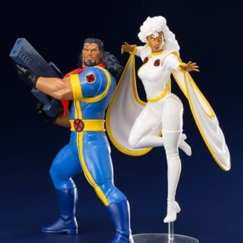 X-Men '92 Bishop and Storm Kotobukiya Statue