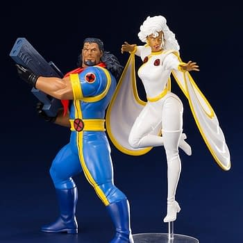 X-Men 92 Bishop and Storm Kotobukiya Statue Up for Order