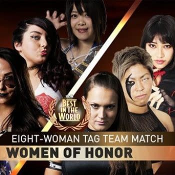 ring of honor women's match baltimore