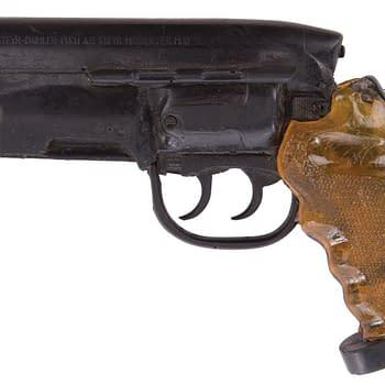 Blade Runner Prop Gun Sells for $41k Snake Plisskens MAC-10 for $20k