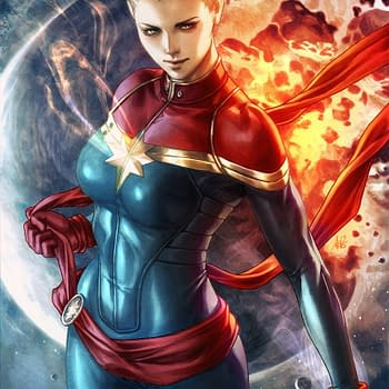 Captain Marvel Tops Advance Reorders Thanks to Stanley Artgerm Lau