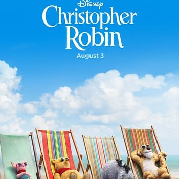 Winnie and Friends Catch Some Sun in New Christopher Robin Poster