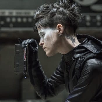 Lisbeth Salander (Claire Foy) in THE GIRL IN THE SPIDER'S WEB