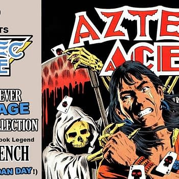 Doug Moenchs Aztec Ace Collected for the First Time by Its Alive on Kickstarter
