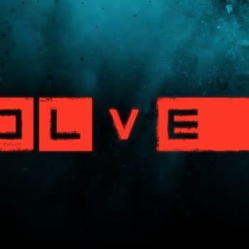 evolve game logo 2K Games