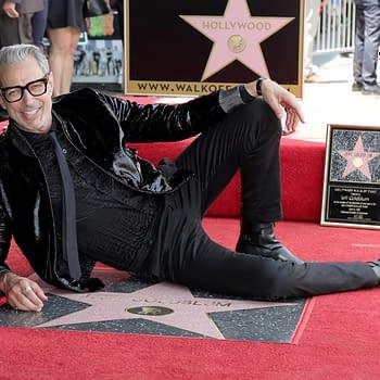 Jeff Goldblum Goldblummed During His Star Ceremony