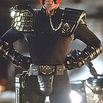 This Life-Sized Judge Dredd Figure Sold For $48k